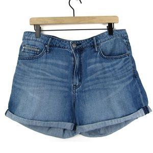 Calvin Klein Denim Jean Shorts Size 30 100% Cotton